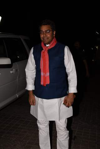 Ashutosh Rana at Sonchiriya special screening