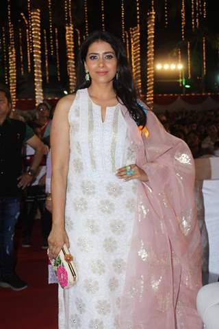 Sonali Kulkarni at an annual day in  Versova!
