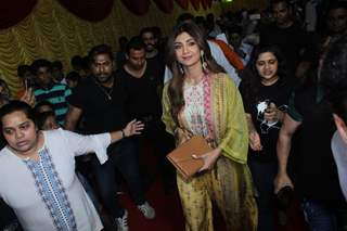 Shilpa Shetty at an annual day in  Versova!