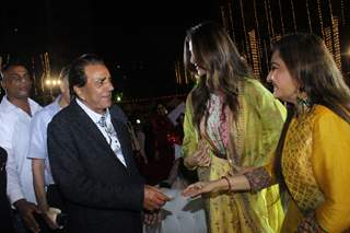 Dharmendra at an annual day in  Versova!
