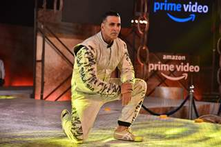 Akshay Kumar at the Launch of  upcoming Amazon's Prime original!
