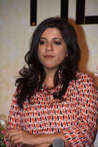 Zoya Akhtar at the press conference of Made in Heaven!
