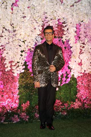 Karan Johar at Ambani Wedding!