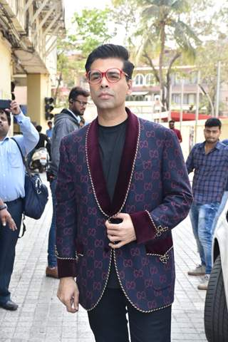 Karan Johar at the teaser launch of Kalank!