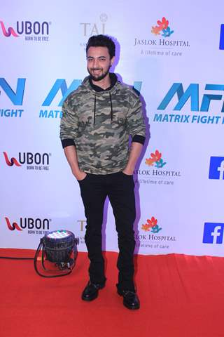 Aayush Sharma at Matrix Fight night