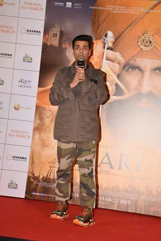 Karan Johar at Kesari Press Conference
