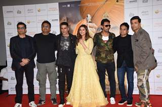 Kesari's team at Kesari Press Conference