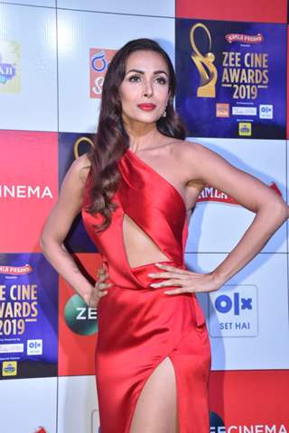 Malaika Arora snapped at Zee Cine Awards!