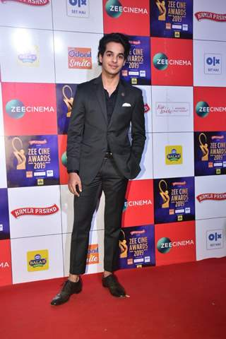 Ishaan Khattar at Zee Cine Awards!