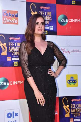 Dia Mirza papped at Zee Cine Awards!
