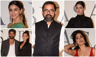 Bollywood stars at Sabyasachi's success bash!
