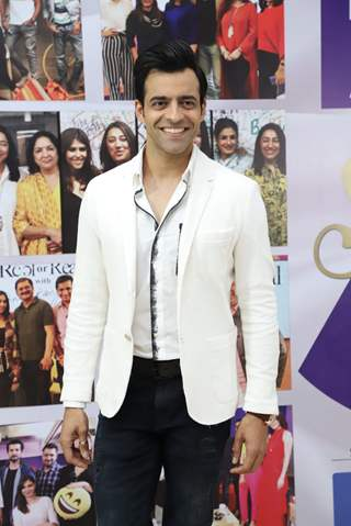 Himanshu Malhotra snapped at the launch of Reel or Real season 3