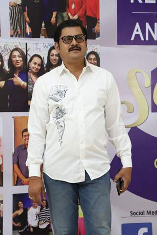 Rohitash Gaud snapped at the launch of Reel or Real season 3