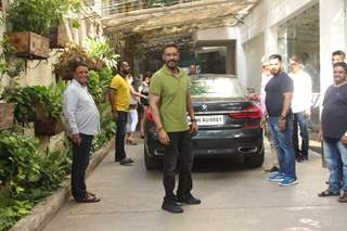 Ajay Devgn snapped at the special screening of De De Pyar De