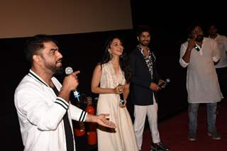 Shahid Kapoor and Kiara Advani snapped at the promotions of Kabir Singh