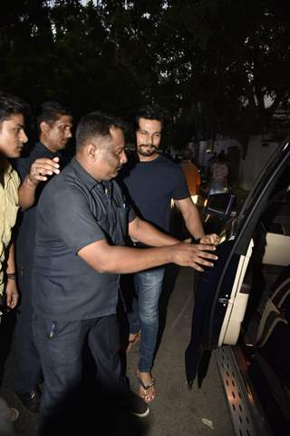 Randeep Hooda snapped after the shoot of Love Aaj Kal 2