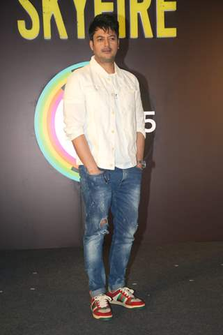 Jisshu Sengupta  snapped at the Press Conference of Zee5 original's Skyfire