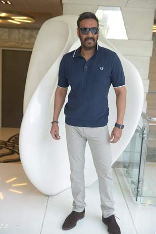Ajay Devgn spotted at De De Pyar De promotions
