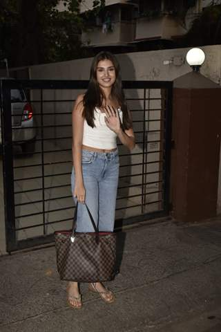 Tara Sutaria spotted around the town