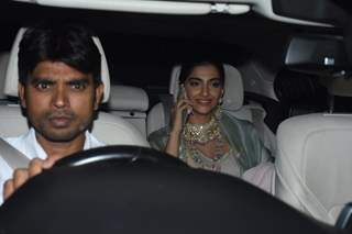 Sonam kapoor spotted around the town