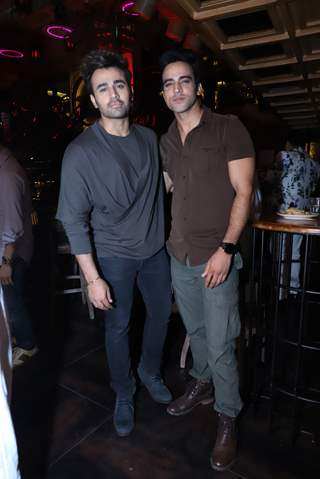 Pearl v. Puri with Rohit Chaudhari snapped at Anita Hassanandani and Pearl Puri's song launch