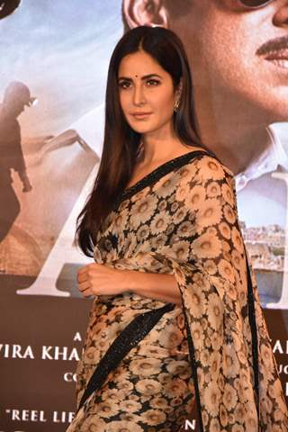 Katrina Kaif posing at Bharat song launch