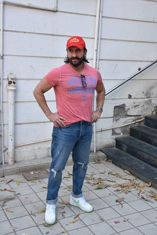 Saif Ali Khan poses for a picture