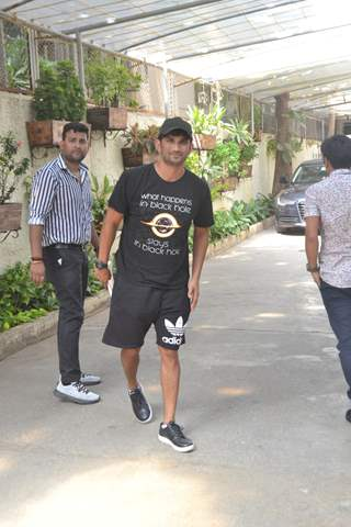 Sushant Singh Rajput spotted around the town
