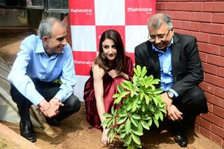 Soha Ali Khan papped at a World Environment Day Event
