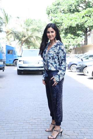 Katrina Kaif was papped around the town