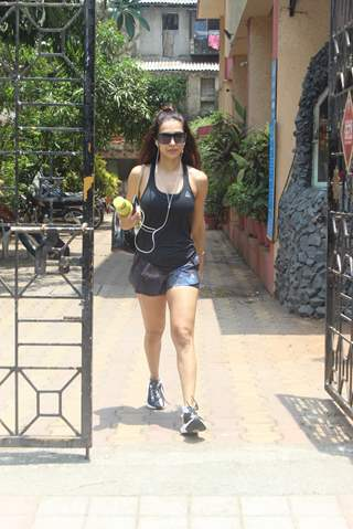 Malaika Arora snapped around the town