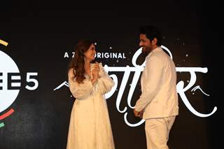 Dia Mirza and Mohit Raina snapped at the press conference of Kafir