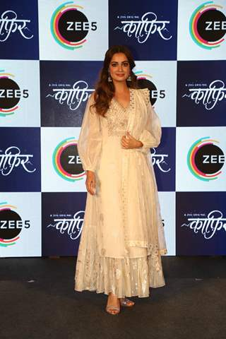 Dia Mirza snapped at the press conference of Kafir