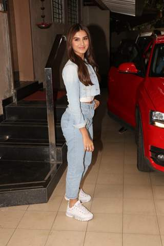 Tara Sutaria spotted around the town!