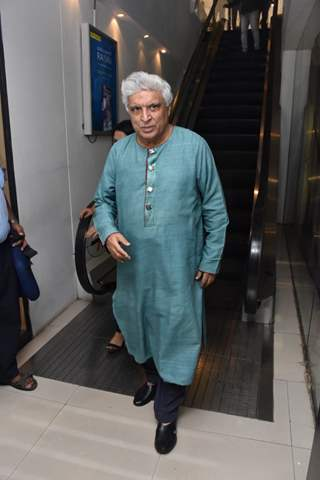 Javed Akhtar spotted around the town!