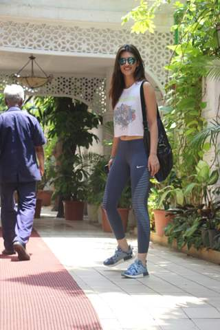 Kriti Sanon spotted around the town!
