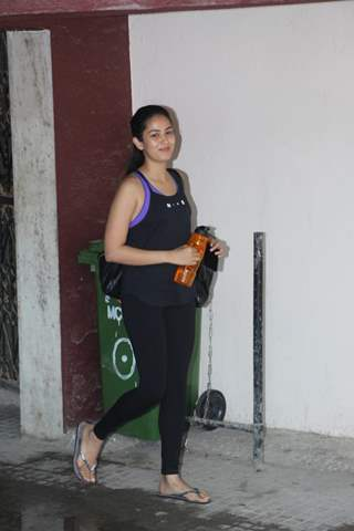 Mira Rajput spotted around the town!