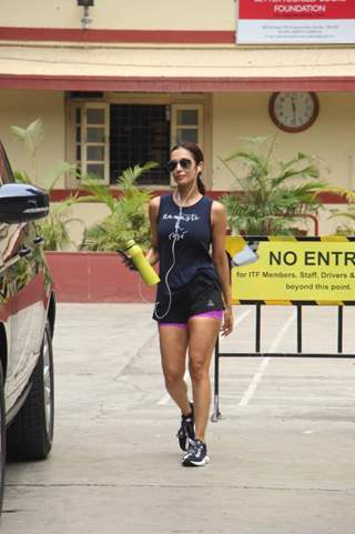 Malaika Arora spotted around the town!