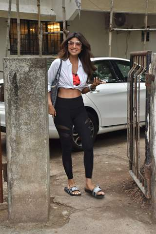 Shilpa Shetty snapped around the town