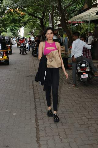 Khushi Kapoor snapped around the town