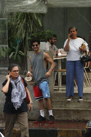 Ishaan Khattar snapped around the town