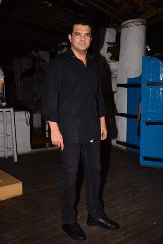 Siddharth Roy Kapur snapped at the wrap party of The Sky Is Pink