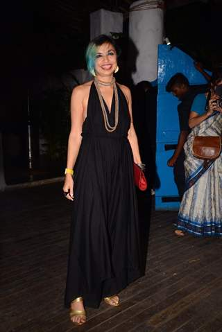 Shonali Bose snapped at the wrap party of The Sky Is Pink