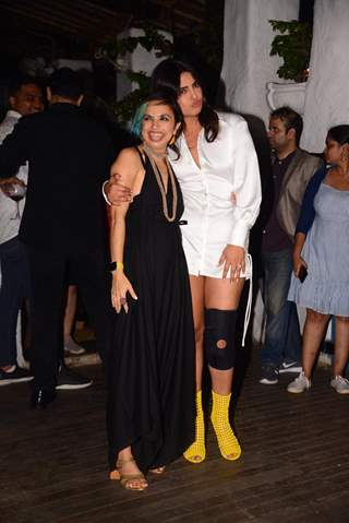 Priyanka Chopra and Shonali Bose snapped at the wrap party of The Sky Is Pink