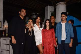 Siddharth Ropy Kapur, Shonali Bose, Priyanka Chopra, Ronnie Screwvala, Rohit Saraf and Zaira Wasim snapped at the wrap party of The Sky Is Pink