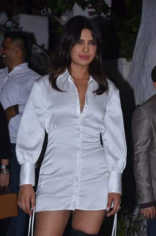 Priyanka Chopra snapped at the wrap party of The Sky Is Pink