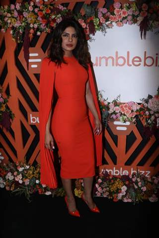 Priyanka Chopra poses for a picture at Bumblebizz event!