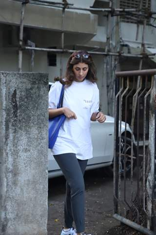 Shweta Bachchan Nanda spotted around the town!