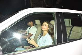Daisy Shah spotted around the town!