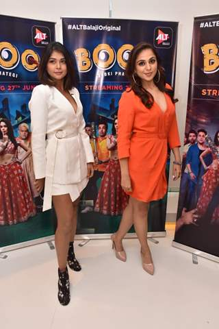 Celebrities snapped at the promotions of Boo Sabki Phategi